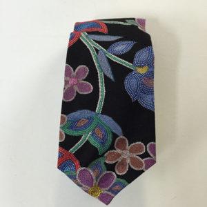 floral-print-tie